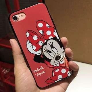 現貨💓 iPhone 8/8plus/7/7plus 手機殼 6plus/6s plus 米奇米妮 情侶款 卡通 閨蜜殼