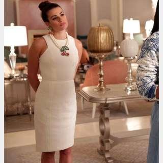 H&M white dress as seen on Lea Michele size 2