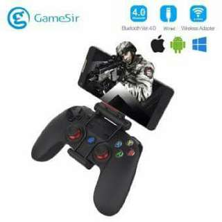 Gamesir G3s Series Wireless 2.4ghz Bluetooth 4.0 Controller Gamepad Control For Android / Ios / Pc / Playstation3 Gaming With Bracket.