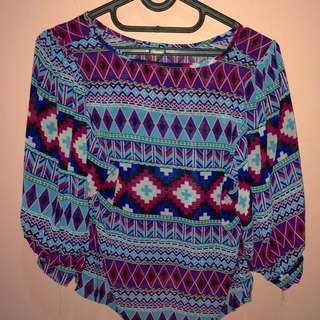 Tribal Top Croptee