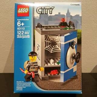 Brand New Lego CITY Coin Bank
