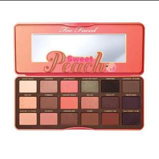 Too Faced Eyeshadow Palette #TS