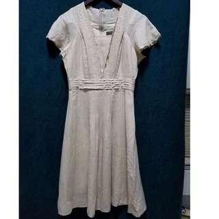 Michel Renè Cotton Dress
