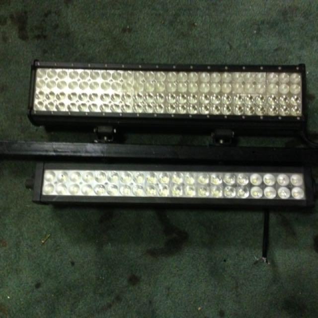 2x light bars