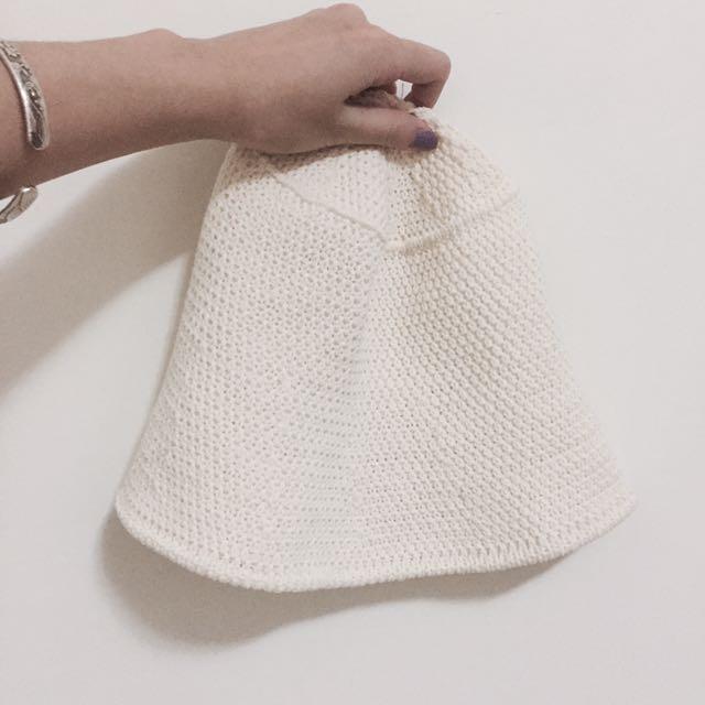 鐘型春夏編織帽