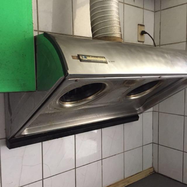 友託售 廚房排油煙機,二手良品,便宜賣,自取自拆(桃園龍潭)