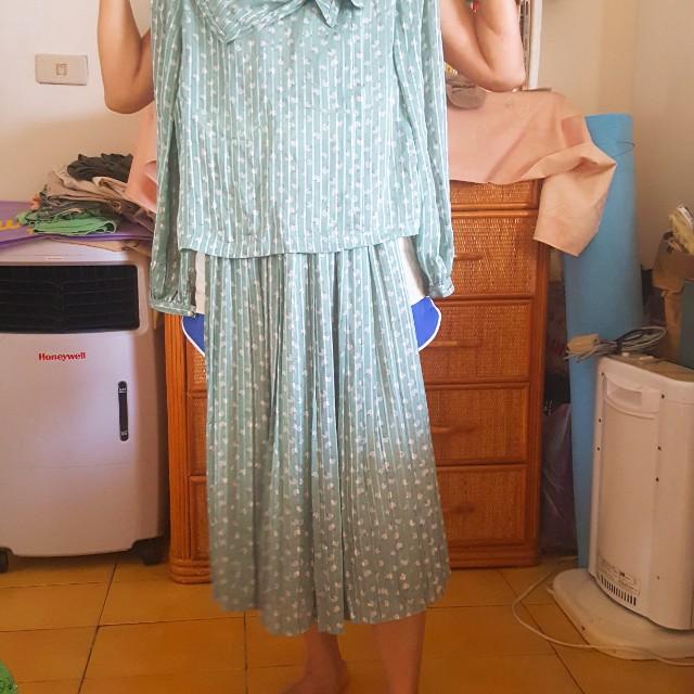 連身禮服 連身裙 絲質