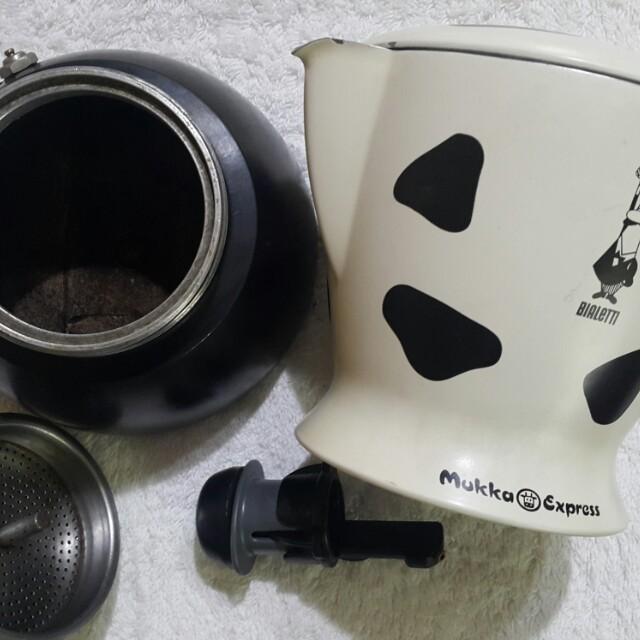摩卡壺 咖啡壺 乳牛壺