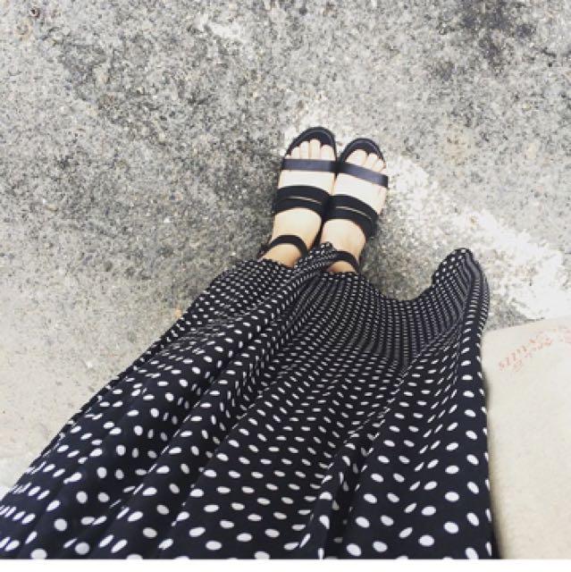 金屬感 科技感 黑色 39 韓國帶回 涼鞋 #含運最划算