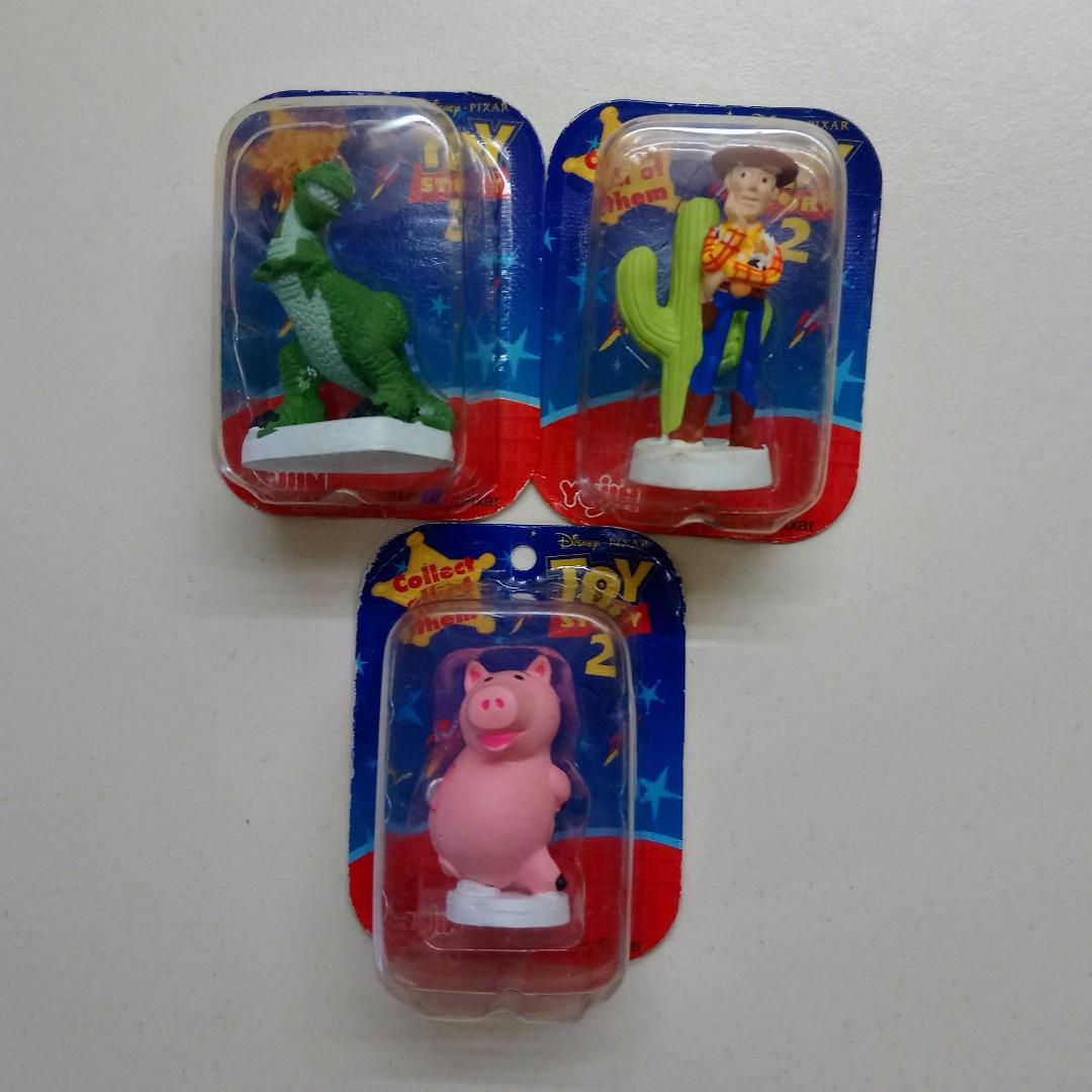 合售玩具總動員 扭蛋 吊卡 轉蛋 3款合售