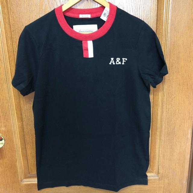 全新正品 a&f 短t 尺寸M