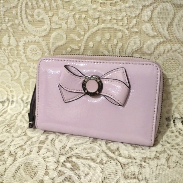 👝 MIMCO - MIM Bow Zip Purse (Amethyst)