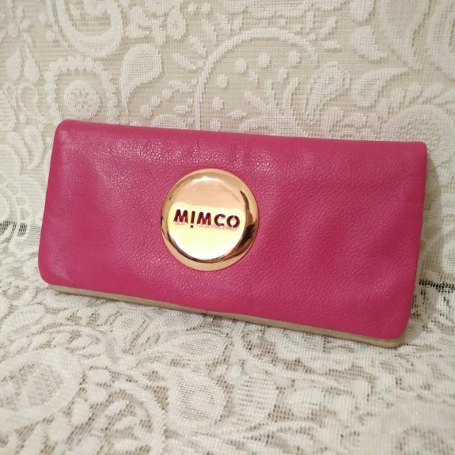 👝 MIMCO - MIM Wallet (Schiaparelli Pink)