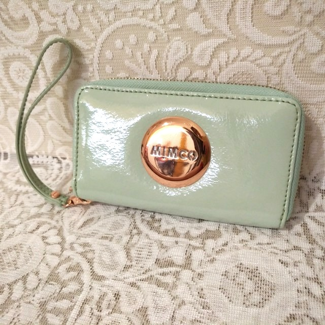 👝 MIMCO - MIM Zip Tech Purse (Pistachio)