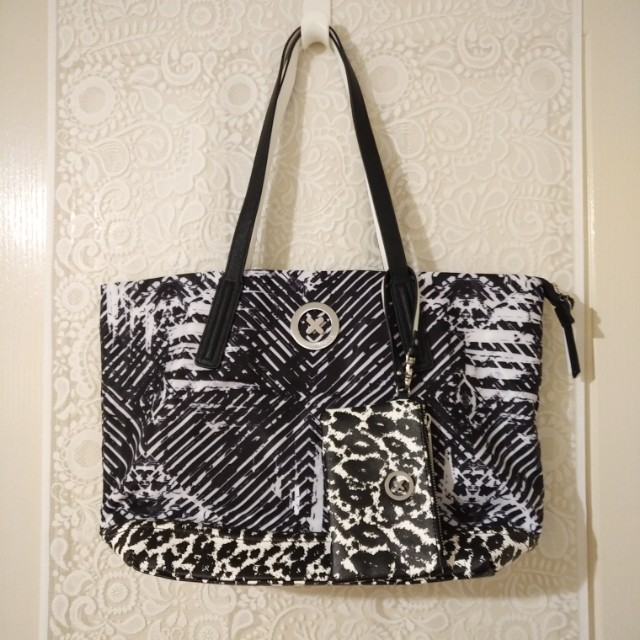 👜 MIMCO - Splendiosa Tote (Black/White)