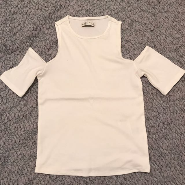 Abercrombie And Fitch Shoulder Cut Out Shirt