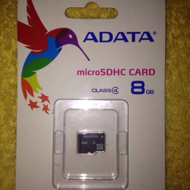 ADATA microSD 8gb