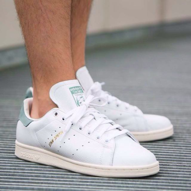 competitive price f546f 5304c ... low price adidas stan smith vintage white vapour steel mens fashion  footwear on carousell 8af21 bca8a