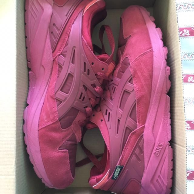 Asics Gel Layabout Trainers Burgundy QUICK SALE!!