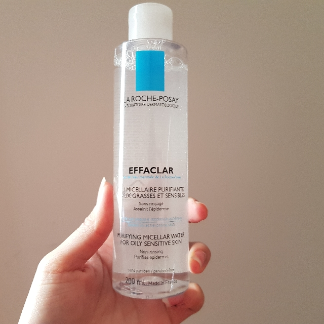 Auth NEW La Roche Posay purifying micellar water for oily sensitive skin