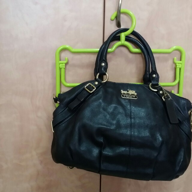 Coach Women S Leather Backpack