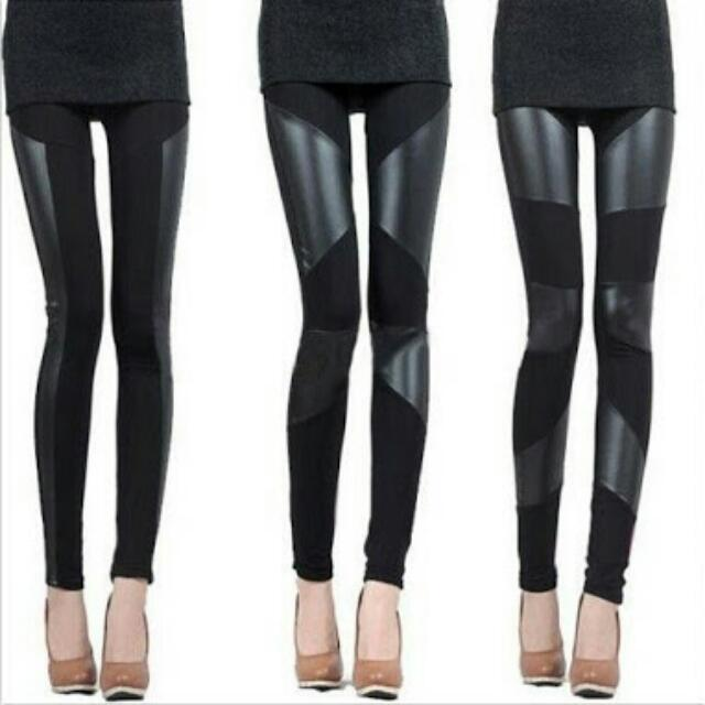 Authentic Izzue Collection Faux Leggings