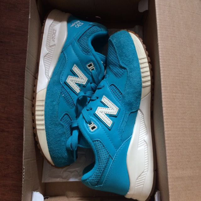 Authentic New Balance 530 Encap Turquoise White-Gum