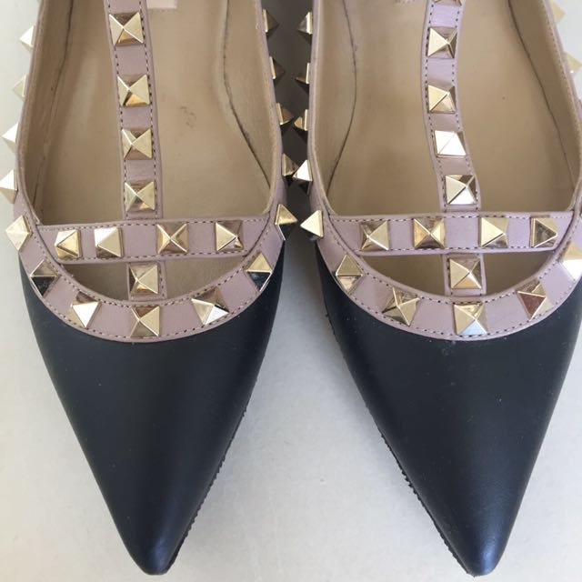 Authentic Valentino Flats Size 36