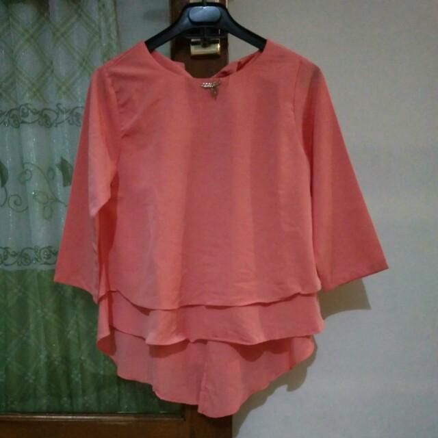 Baju warna peach