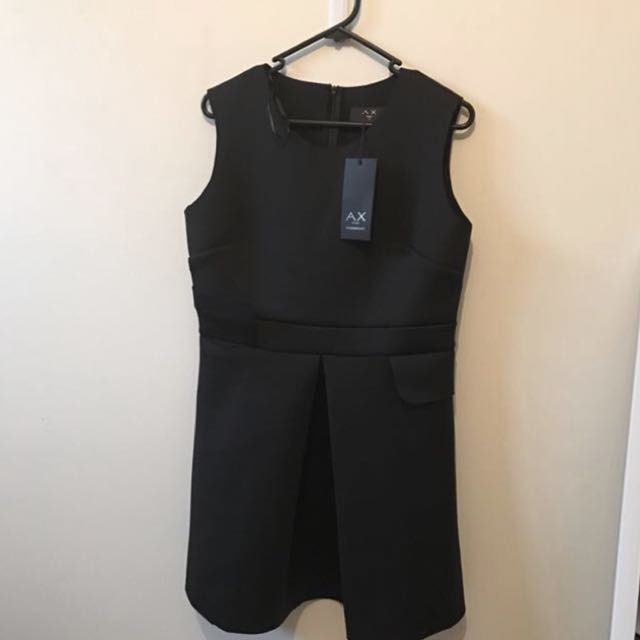 Black sleeveless mini dress size 14