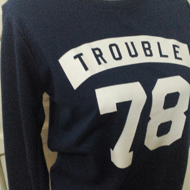 GTW Blue Pullover