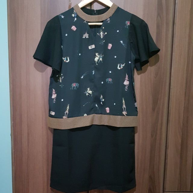 BNWT Plains and Prints Dress