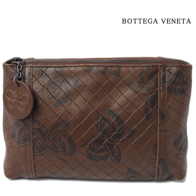 Bottega Veneta 萬用袋 / 旅行袋 幻影棕色和深棕色的蝴蝶