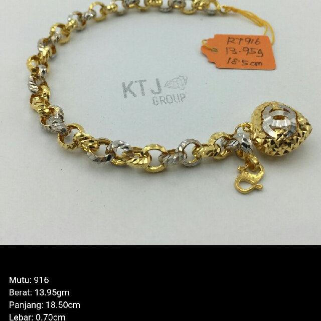 422e603edadc Bracelet Rantai tangan kendi 1 love