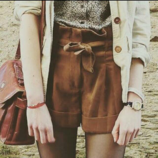Brand New Brown Shorts