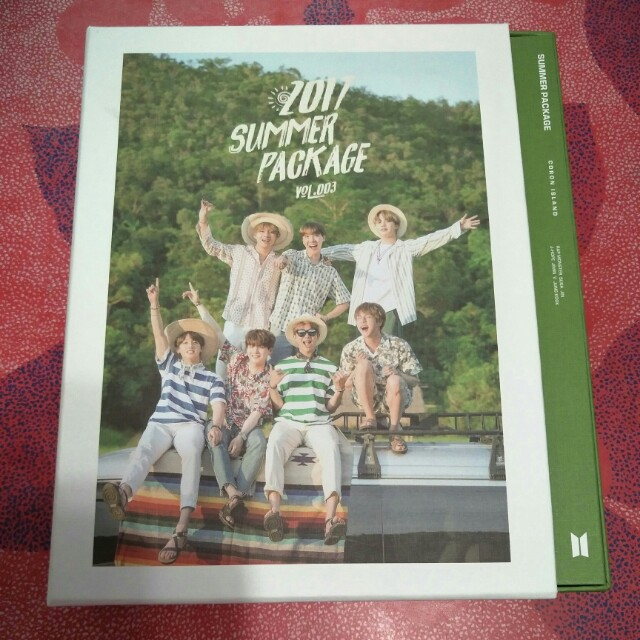 [PRICE REDUCED] Bts Unsealed Summer Package 2017