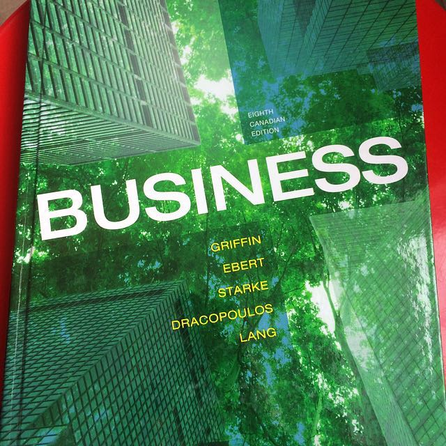 Business- Eighth Canadianedition