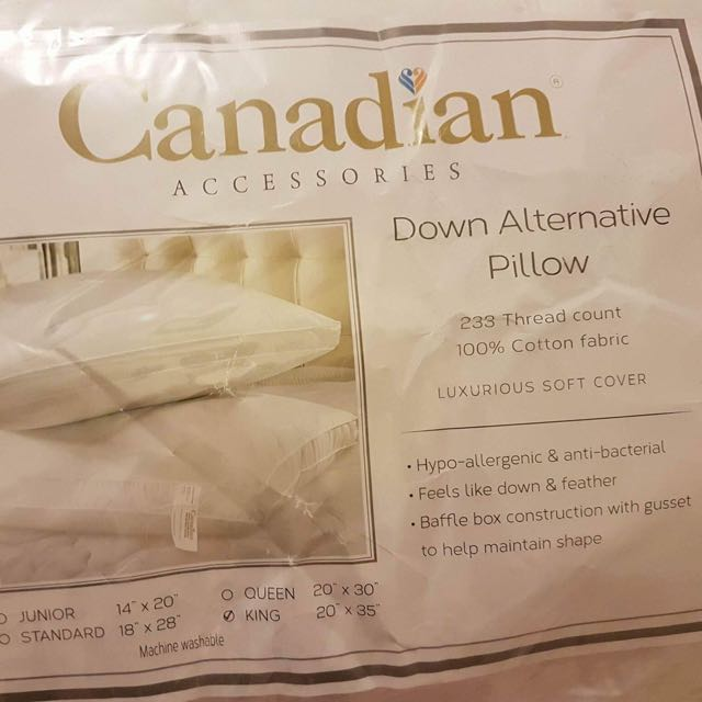 Canadian Pillow