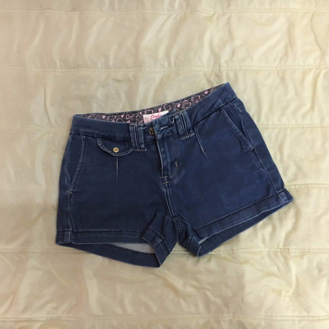 Candie's Dark Denim Shorts
