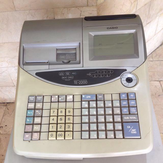Cashio cash register