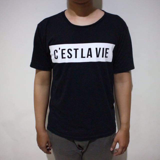 C'estlavie Clothing Black T-shirt