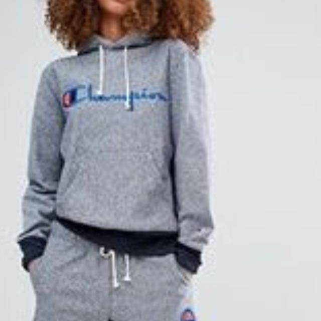Champion navy hoodie