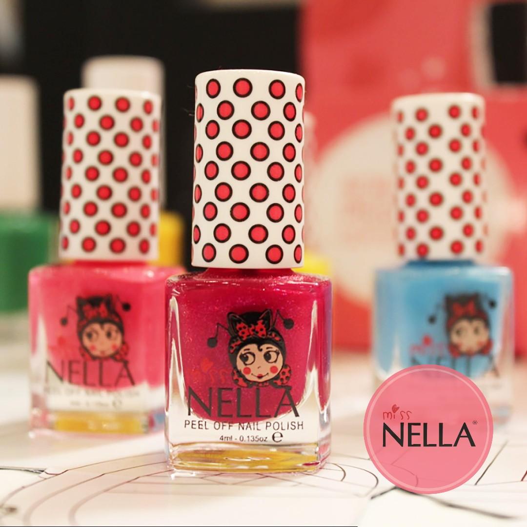 Cherry Macaroon - Miss Nella Non-Toxic kids nail polish, Babies ...