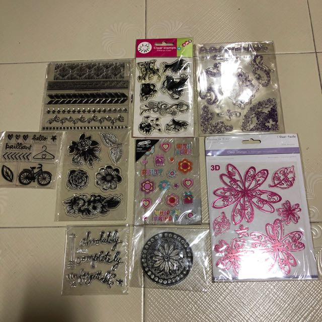 clear stamp bundle