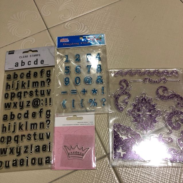 Clear stamps bundle