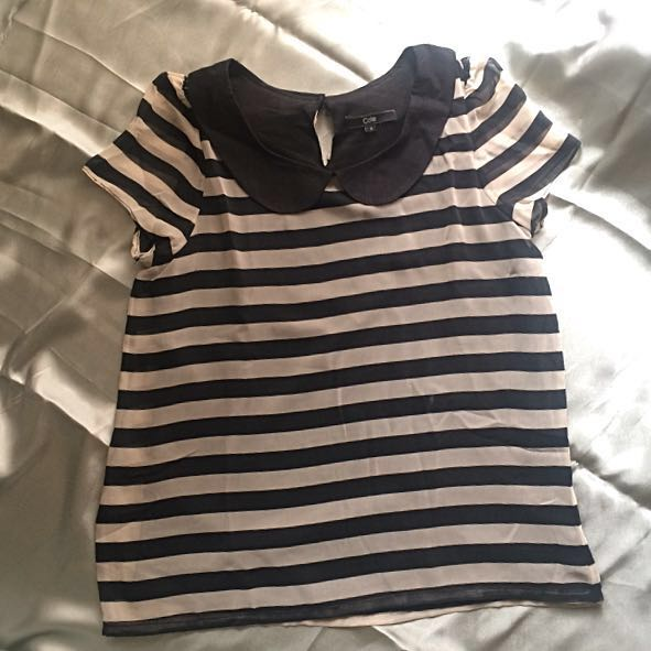 Cole Stripe Blouse