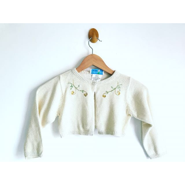 Cream Bolero for Kids