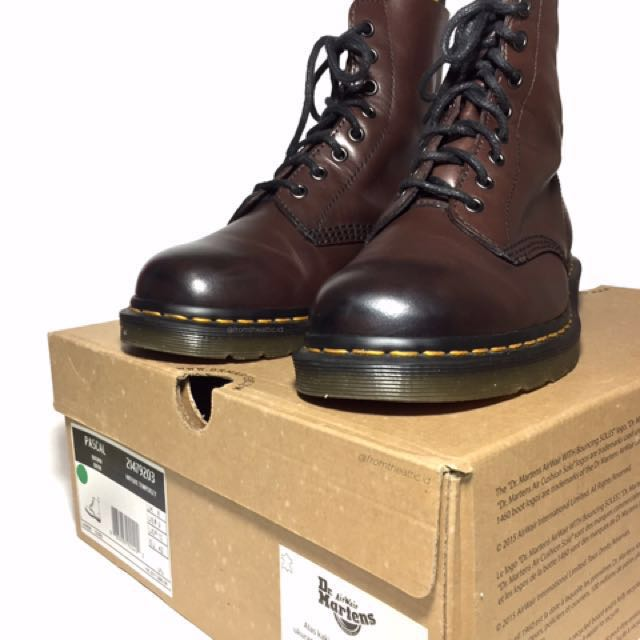 Dr Martens Pascal Brown