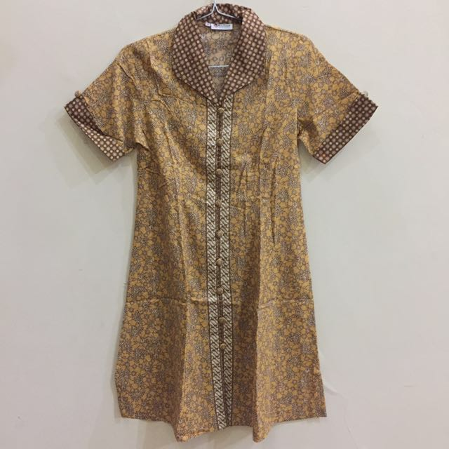 Dress Batik Keris Pendek