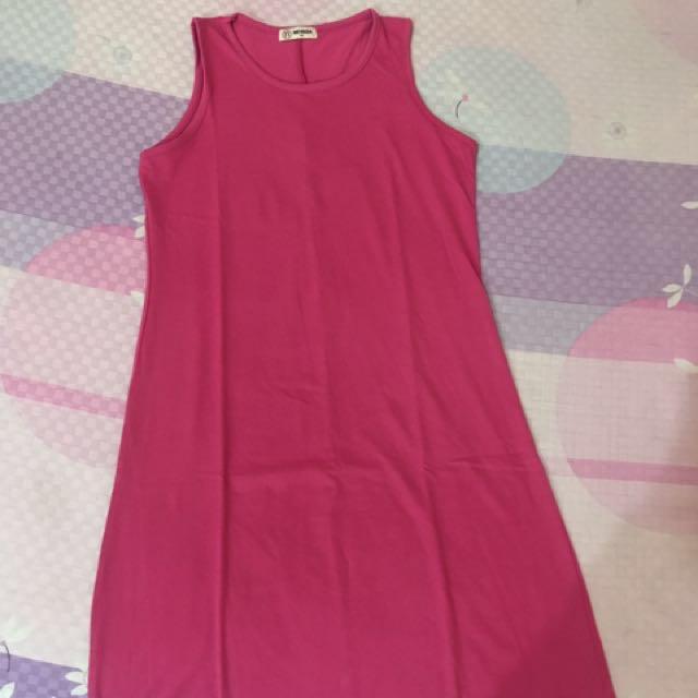 Dress polos pink